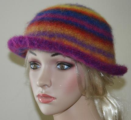 Sausalito Felted Hat Kit