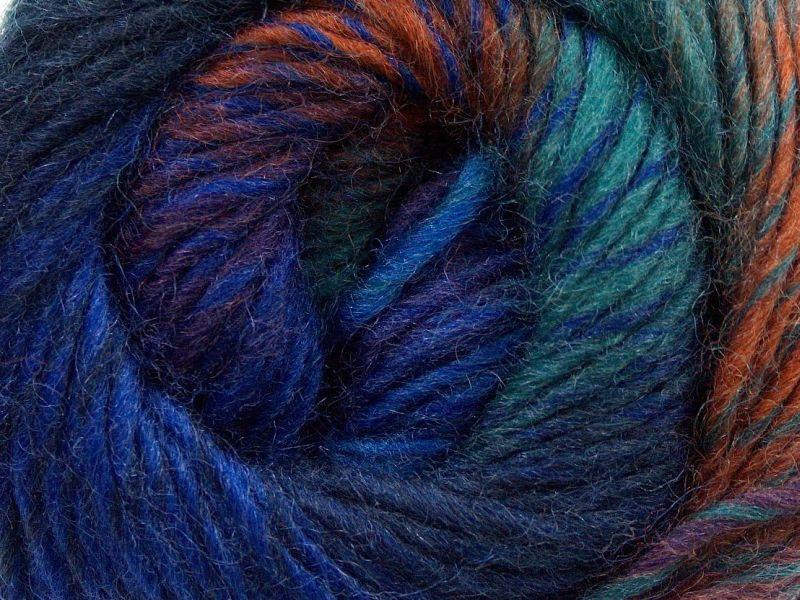 Acacia Yarns Supersoft Merino Yarn #471 Blue Planet