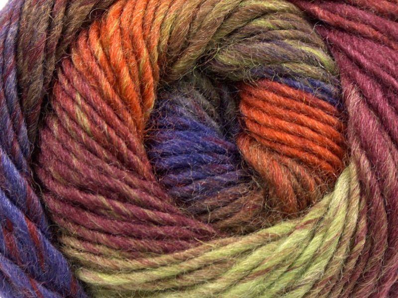 Acacia Yarns Supersoft Merino Yarn #472 Garden