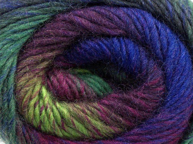 Acacia Yarns Supersoft Merino Yarn #481 Paradise