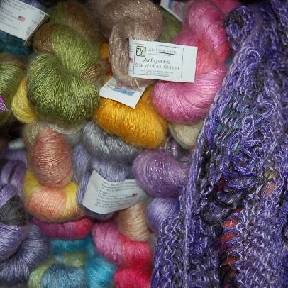 Artyarns Silk Mohair Yarn Glitter & Non-Glitter