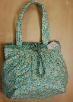 Its in The Bag by Carole - Picking Daisies Large Hand Made Project Bag #11