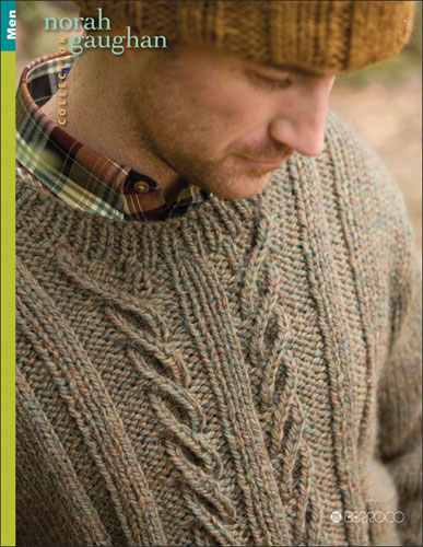 Norah Gaughan Men Pattern Book
