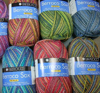 Berroco Sox Metallic Sock Yarn