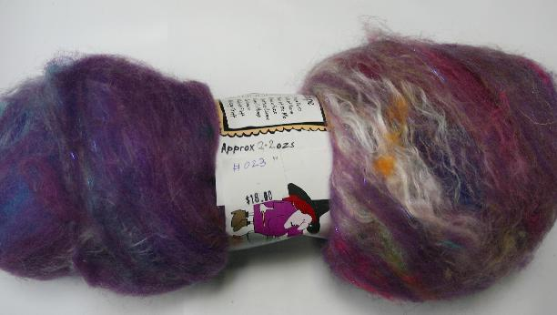 Bewitching Batts Hand Blended Art Batt - #023 - 2.2 ozs