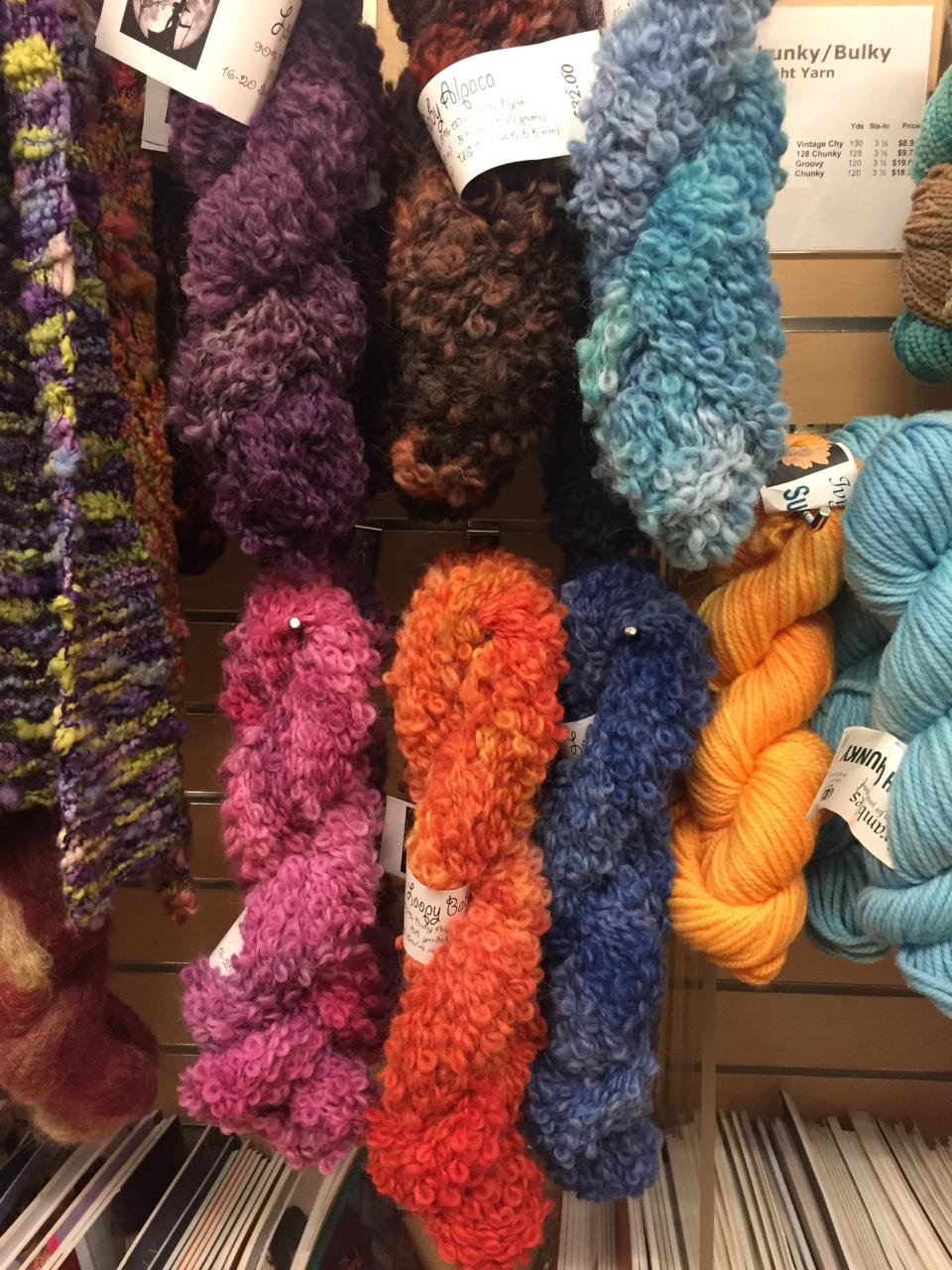 Loopy Baby Alpaca Yarn by Bewitching Fibers