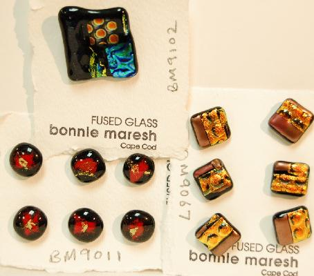 Bonnie Maresh Fused Glass Buttons