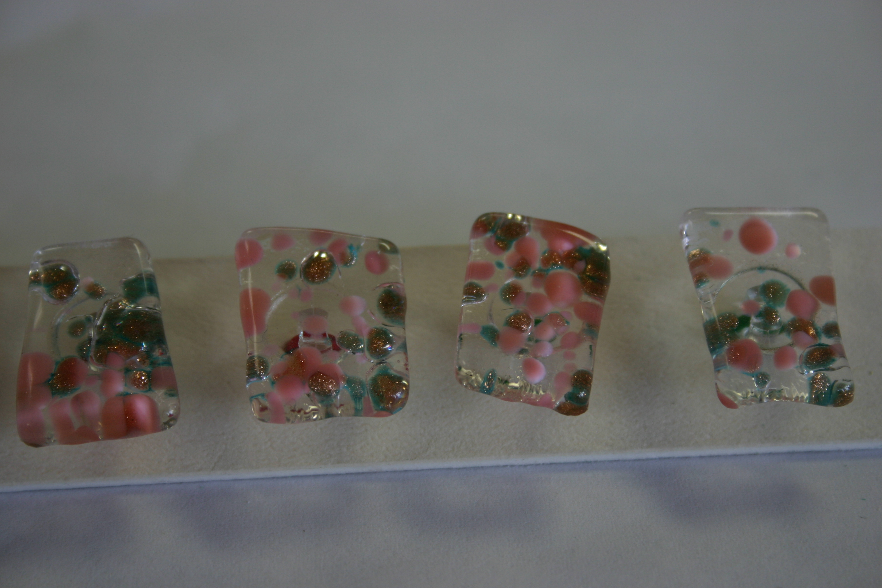 Bonnie Maresh Fused Glass Buttons - Medium BM9639