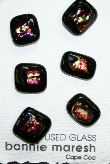 Bonnie Maresh Fused Glass Buttons - Medium BM9219