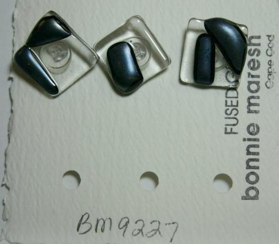 Bonnie Maresh Fused Glass Buttons - Medium BM9227