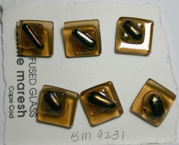 Bonnie Maresh Fused Glass Buttons - Medium BM9231