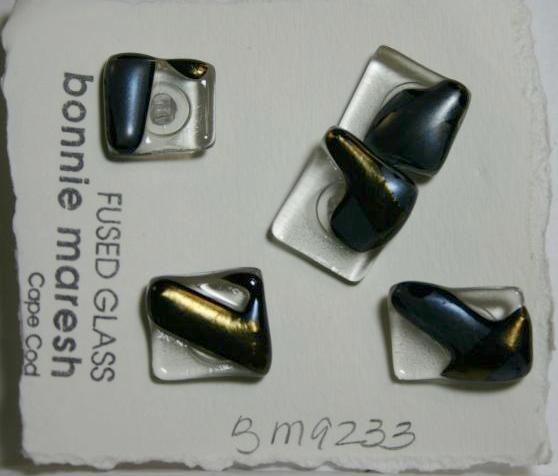 Bonnie Maresh Fused Glass Buttons - Medium BM9233