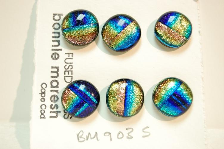 Bonnie Maresh Fused Glass Buttons - Small BM9035