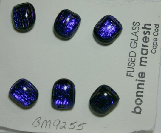 Bonnie Maresh Fused Glass Buttons - Small BM9255