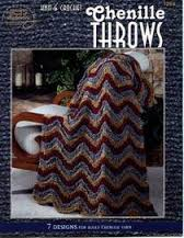 Knit and Crochet Chenille Throws - 1269