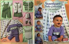 Sweetheart Baby Collection to Crochet 1319