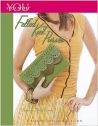 Felted Knit Purses - 4063