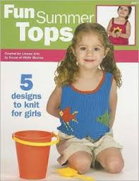 Fun Summer Tops - 5 Designs to Knit for Girls #4488