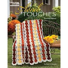 Floral Touches - 5 Crochet Afghans - 4773