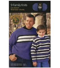 9 Family Knits Lion Brand Chunky