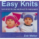 Easy Knits by Zoe Halstead-Mellor