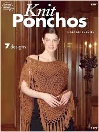 Knit Ponchos - 7 Designs