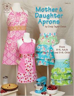 Mother and Daughter Aprons by Cindy Taylor Oates