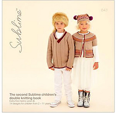 Sublime 643 The Second Sublime Childrens Double Knitting Book