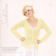 Sublime #619 The Second Cashmere Merino Silk dk Book