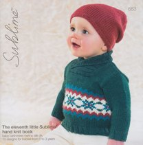 Sublime 663 The Eleventh Little Sublime Hand Knitting Book