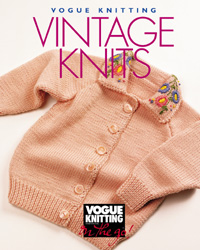 Vogue Knitting on the Go Vintage Knits book by Vogue