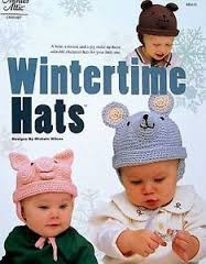 Wintertime Hats - A Bear,  A Mouse and A Pig Character Hats