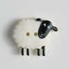 #320610 White Sheep Button 23mm (7/8 inch) by Dill