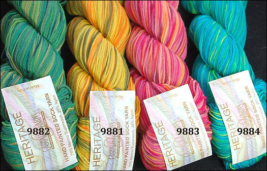 Cascade Heritage Paints Sock Yarn