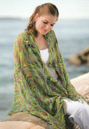Cherry Tree Hill Figure-Eight Fantasy Shawl Kit