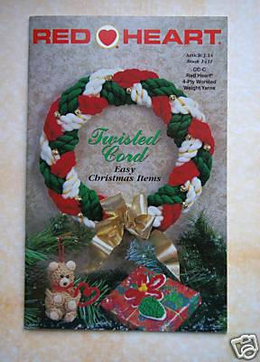 Twisted Cords Easy Christmas Items (braided yarn)