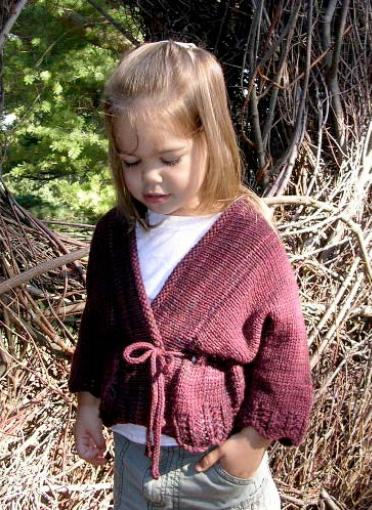 Dream in Color Ma Belle Childs Sweater Pattern by Lindsay Pekny