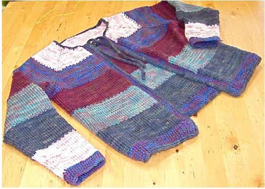 Dream in Color Tulips for Women Cardigan Pattern P-609 by Lindsay Pekny