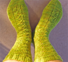 Dream in Color Sleepwalker Socks Pattern PS-652 by Monica Nappe