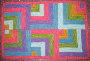 Dream in Color Rocketry Blanket Pattern P606