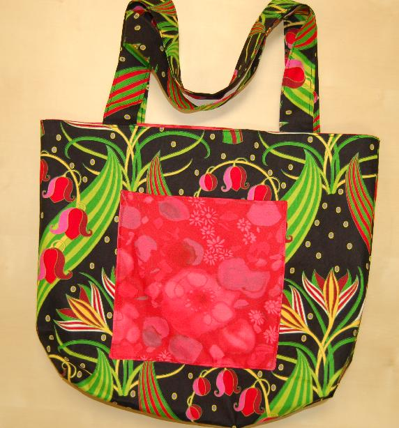 Project Tote by Fairy Designs - Spring Flowers