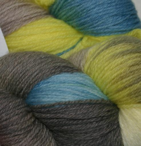 Funky Monkey Handpaints Sock Yarn - Flutterby