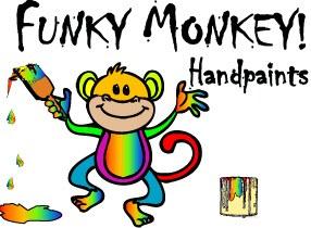 Funky Monkey Handpaints