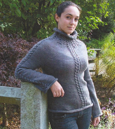 Gosport Sweater Pattern by Alison Green Will