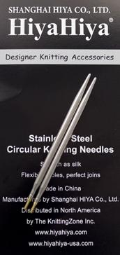 HiyaHiya Interchangeable Steel Tips US # 2 (2.75 mm) 4 inch length