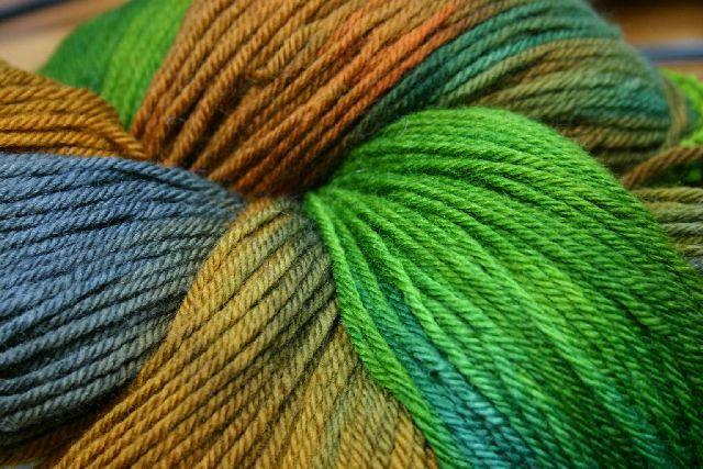 Interlacements Yarns Oregon Worsted Wool Yarn - 560 Yards