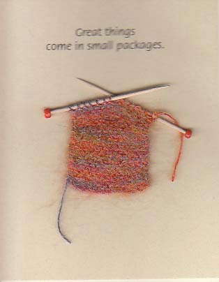 Itty Bitty Witty Knitties - Knit Greeting Cards