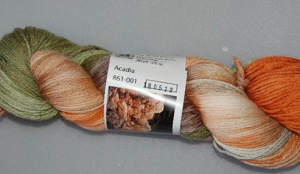 Ivy Brambles Bamboo Silk Sock Yarn 001 Acadia