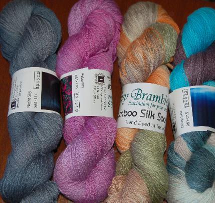 Ivy Brambles Bamboo Silk Sock Yarn