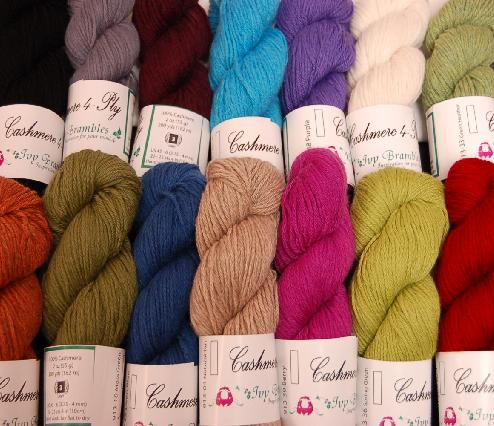 Ivy Brambles Cashmere 4-Ply Yarn